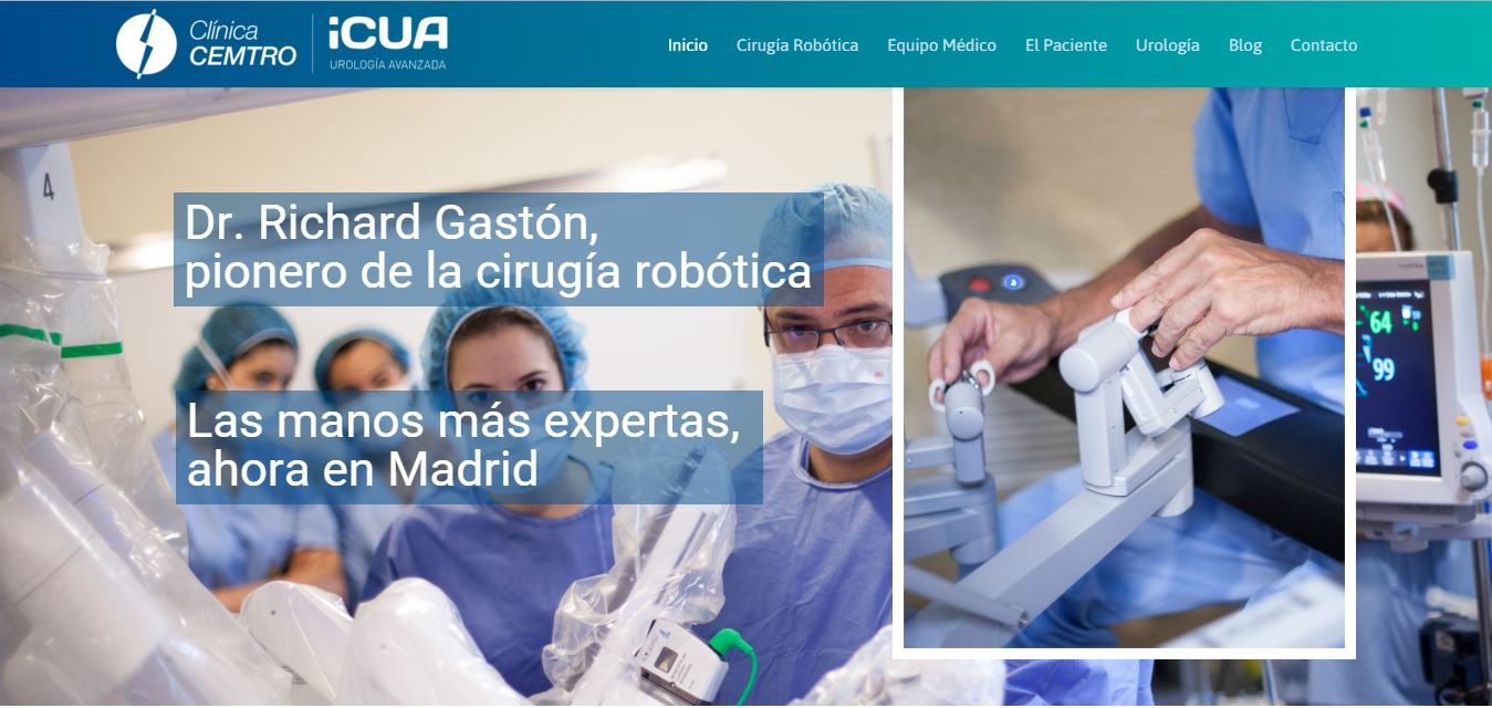 Home Cirugia Robótica