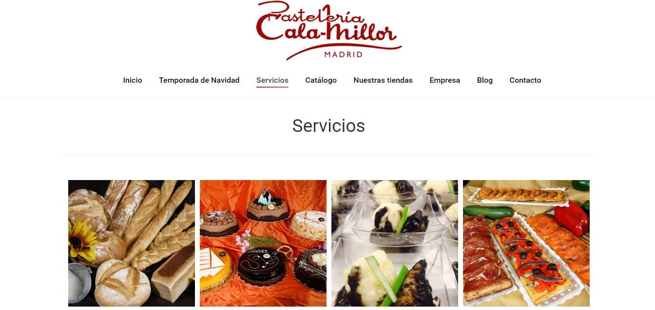 Servicios Pastelería Cala-Millor