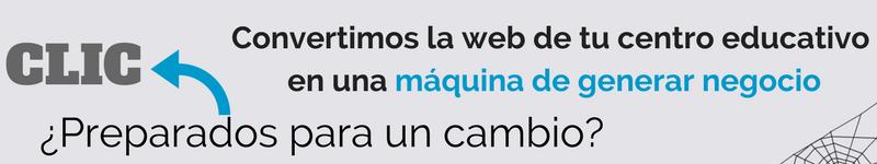 Web para centros educativos