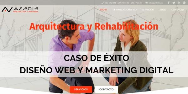 Proyecto página web caso de éxito