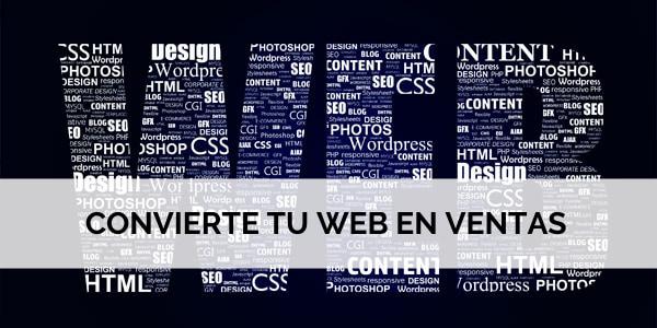 Convierte web en ventas