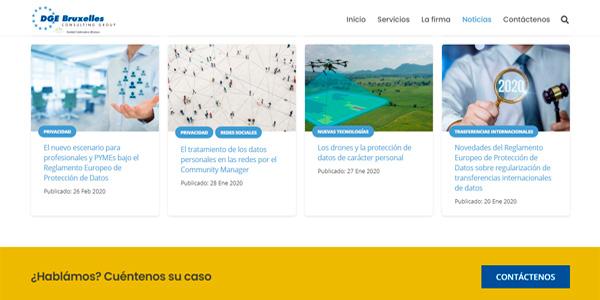 Página web wordpress