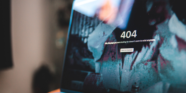Pagina error 404 SEO