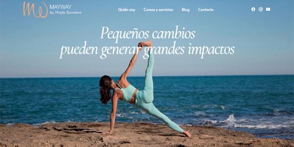 Caso de exito diseño web one page