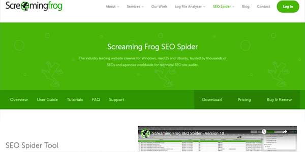 Herramienta SEO Screamingfrog
