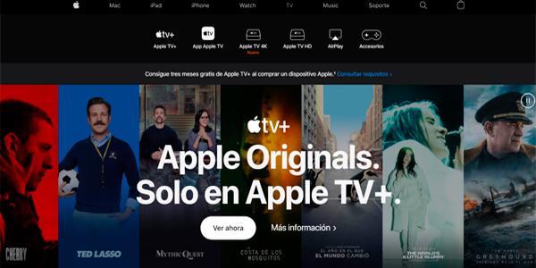 ejemplo cta apple tv